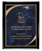 "Premium 7"" x 9"" Piano Finish Plaque"