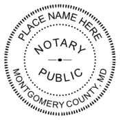 Pre-Inked Notary Stamp