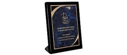 "ENG-PREPSP5X7 - 5"" x 7"" Piano Finish Standing Plaques"