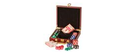 GIFT-PKR01 - Rosewood Finish Poker Set