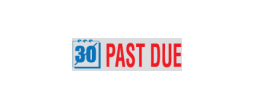 TRD-46081 - PAST DUE 2 Color Stock Stamp
